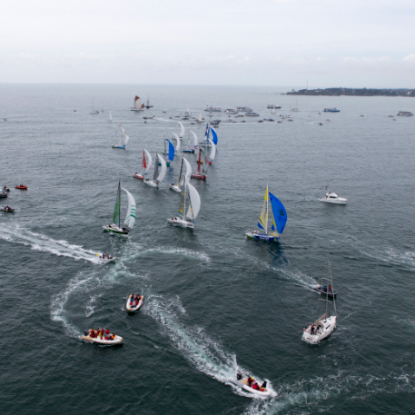Transat AG2R LA <BR>MONDIALE : Erwan Tabarly<BR> et Thierry Chabagny, <BR>premiers inscrits