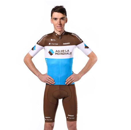equipe cycliste ag2r la mondiale le nouveau maillot ag2r la mondiale. Black Bedroom Furniture Sets. Home Design Ideas