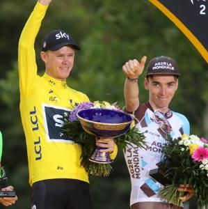 Tour de France : <BR>Romain Bardet finit 3e